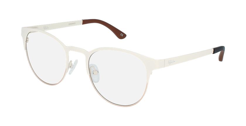 Gafas graduadas mujer MAGIC 44 BLUEBLOCK blanco/gris - vue de 3/4