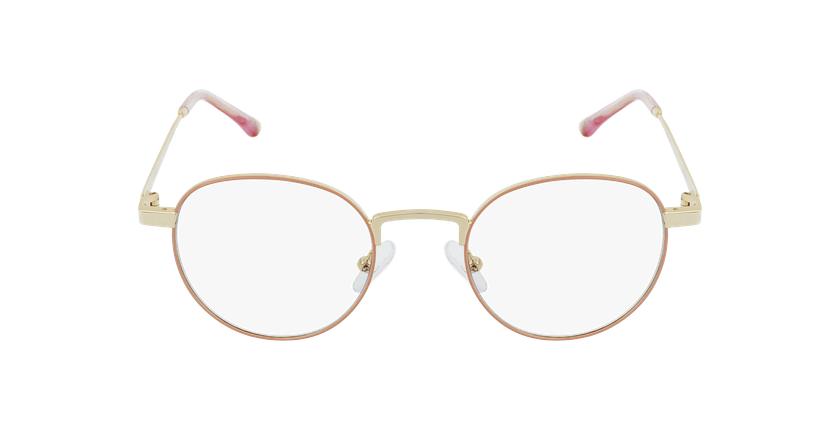 Gafas graduadas MAGIC 70 rosa/dorado - vista de frente