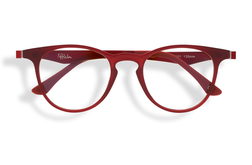 Gafas graduadas MAGIC 27 BLUE BLOCK rojo - danio.store.product.image_view_face