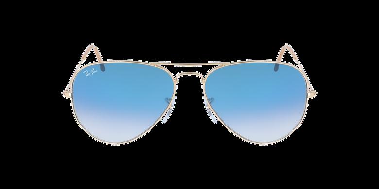 Gafas de sol AVIATOR LARGE METAL dorado/azul