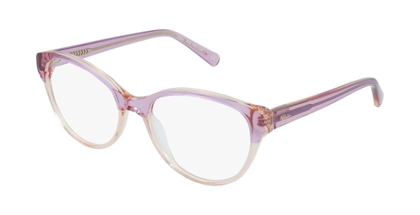 Gafas graduadas mujer OAF20522 rosa - vue de 3/4