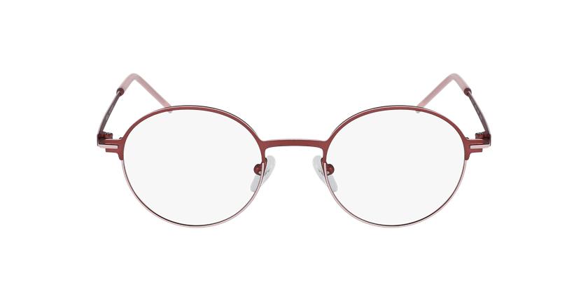 Gafas graduadas mujer VENUS rojo/rosa - vista de frente