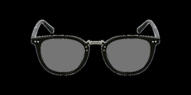Gafas graduadas BACH negrovista de frente