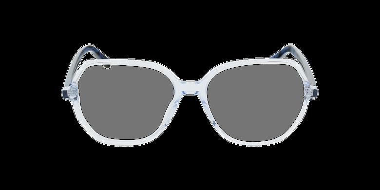 Gafas graduadas mujer CONSTANCE azulvista de frente