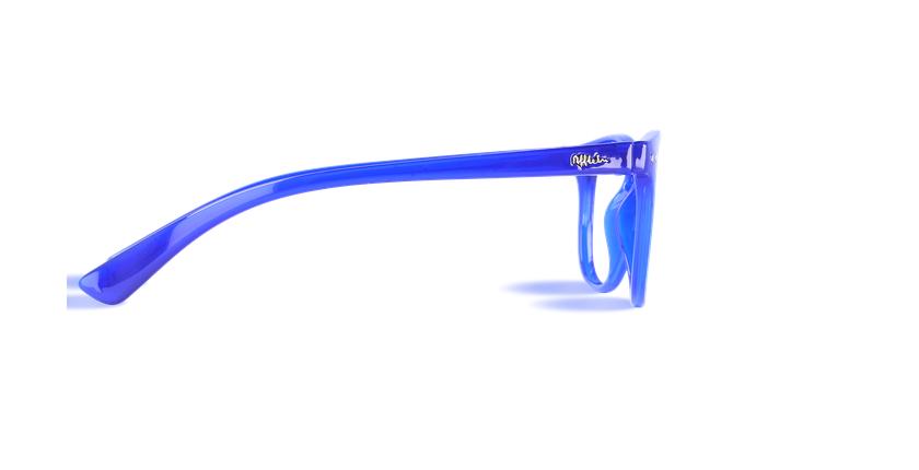 Gafas graduadas niños BLUE BLOCK JUNIOR azul - vista de lado