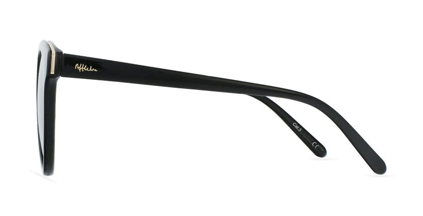 Gafas de sol mujer MAUD negro - vista de lado
