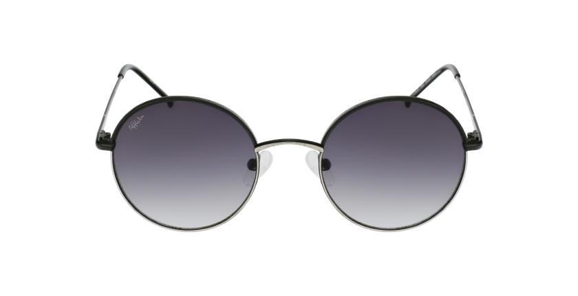 Gafas de sol PALOU negro/plateado - vista de frente