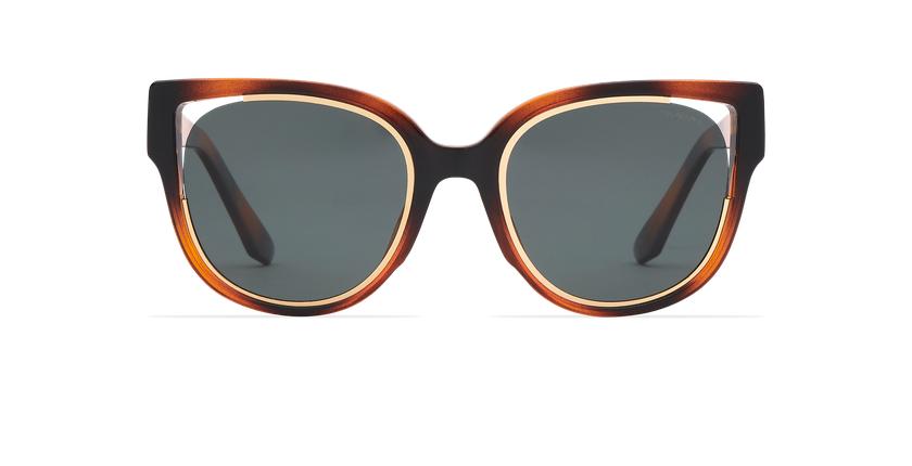 Gafas de sol mujer MAHEA POLARIZED carey/dorado - vista de frente