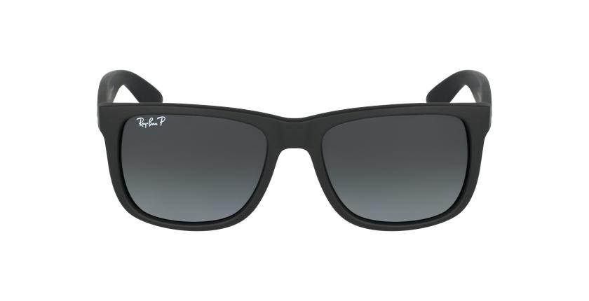 Gafas de sol hombre JUSTIN negro/gris - vista de frente