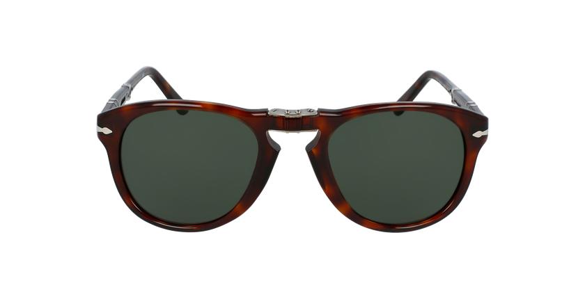 Gafas de sol hombre 0PO0714 marrón - vista de frente