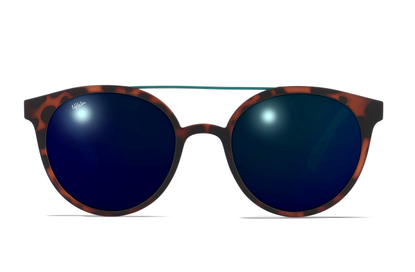 Gafas de sol hombre LAGOS carey/verde - danio.store.product.image_view_face