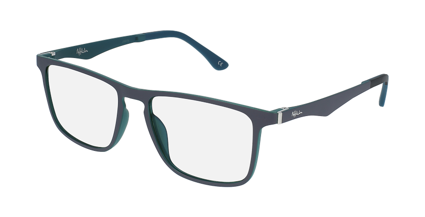 Gafas graduadas hombre MAGIC 38 BLUEBLOCK azul/verde - vue de 3/4