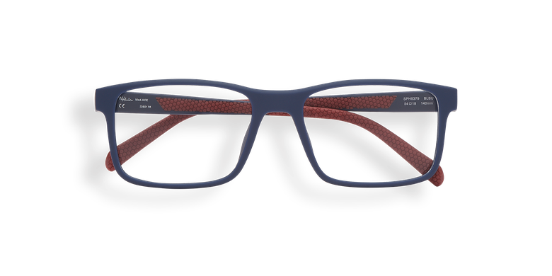 Gafas graduadas hombre ACE azul/rojo