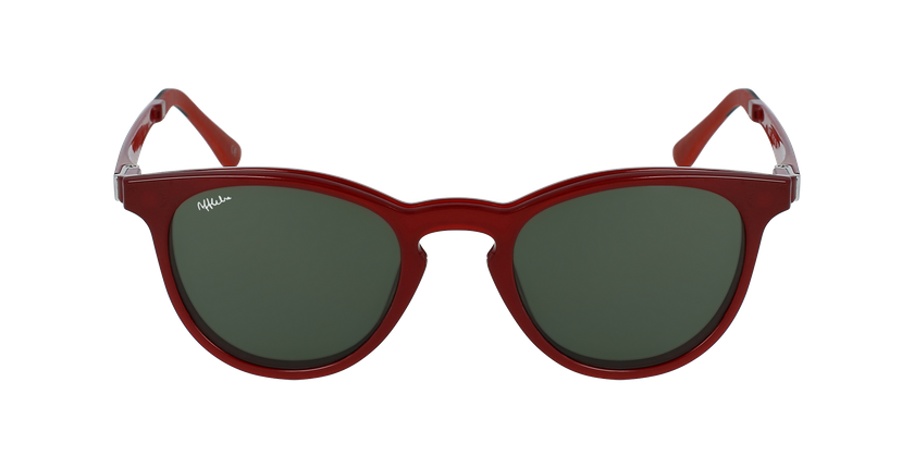 Gafas de sol MAGIC 27 BLUE BLOCK rojo - vista de frente