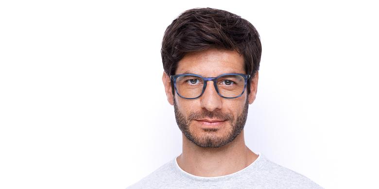 Gafas graduadas hombre MAXENCE azul