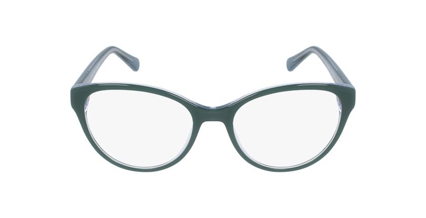 Gafas graduadas mujer OAF20521 verde - vista de frente