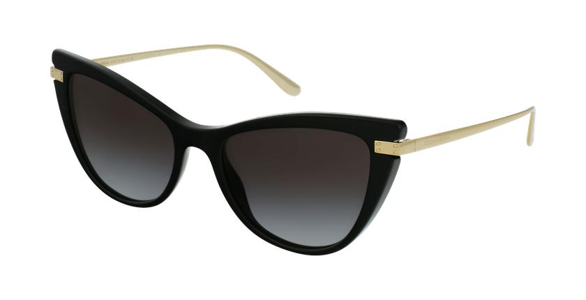 Gafas de sol mujer 0DG4381 negro - vue de 3/4
