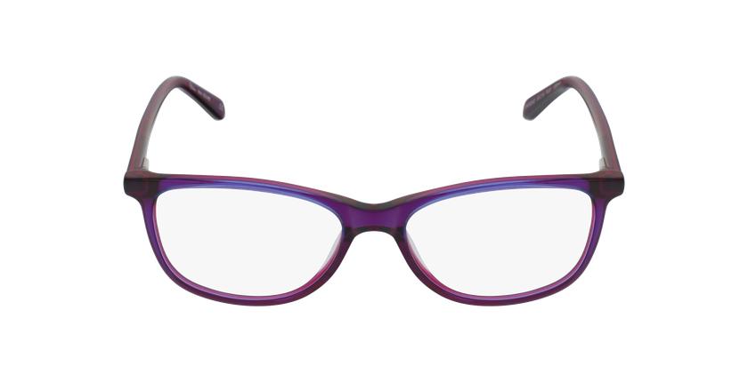 Gafas graduadas mujer SOLINE morado - vista de frente