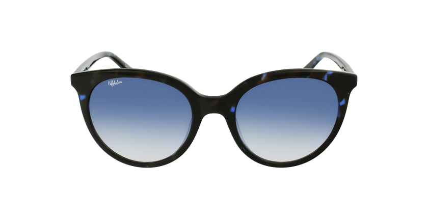 Gafas de sol mujer ENORA carey/azul - vista de frente