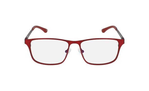 Gafas graduadas hombre MAGIC 41 BLUEBLOCK rojo - vista de frente