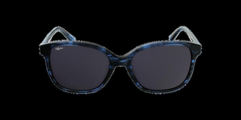 Gafas de sol mujer GLORIA azul/negrovista de frente