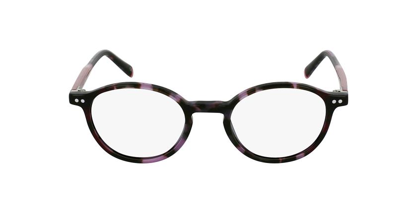 Gafas graduadas BIZET morado - vista de frente