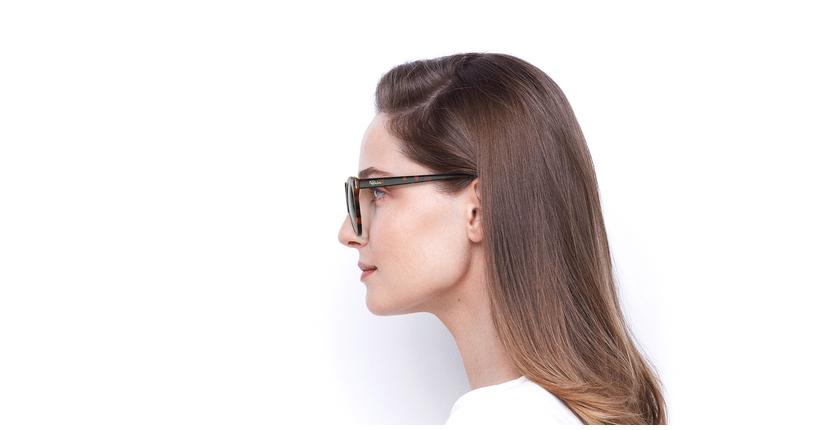 Gafas de sol mujer MAUD carey - vista de lado