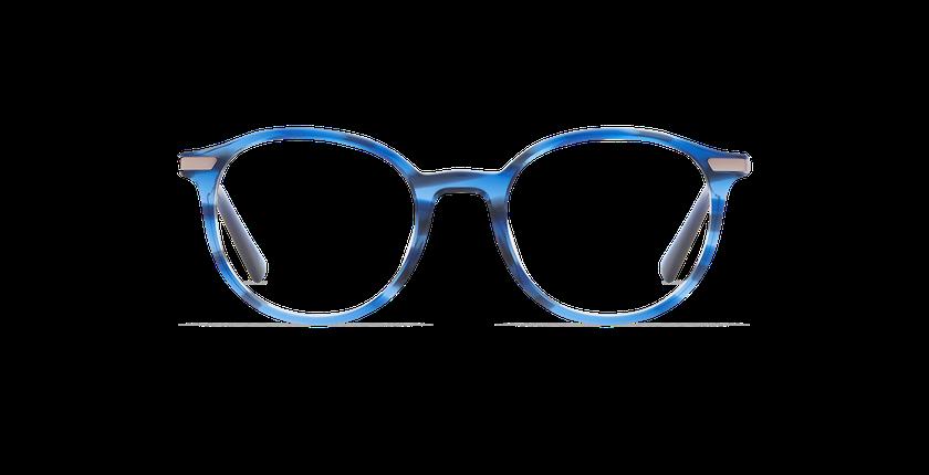 Gafas graduadas hombre BENJAMIN azul - vista de frente