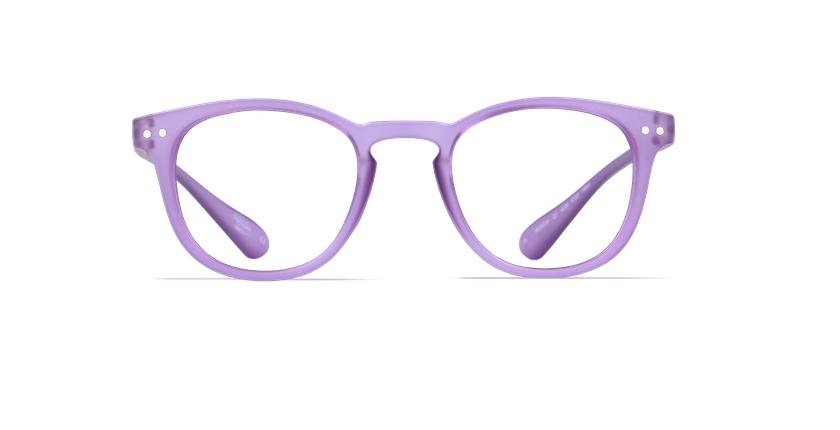 Gafas graduadas BLUE BLOCK UNISEX morado - vista de frente