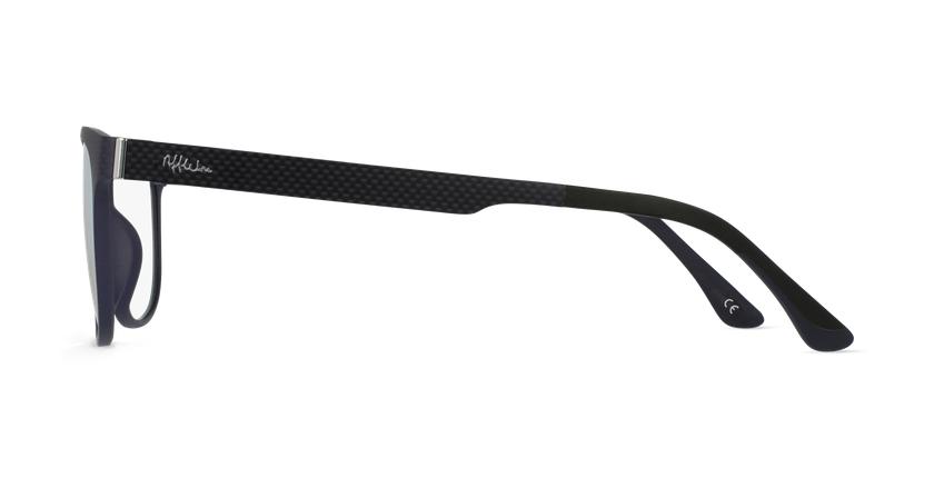 Gafas graduadas hombre MAGIC 33 BLUE BLOCK negro - vista de lado