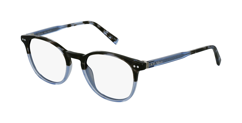 Gafas graduadas RAVEL azul - vue de 3/4