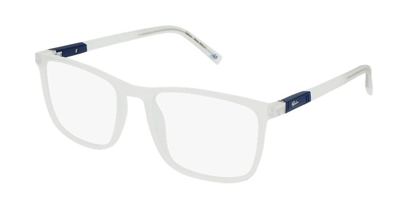Gafas graduadas hombre MALO azul/azul - vue de 3/4