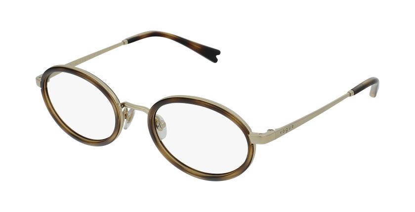 Gafas graduadas mujer VO4167 carey/dorado - vue de 3/4