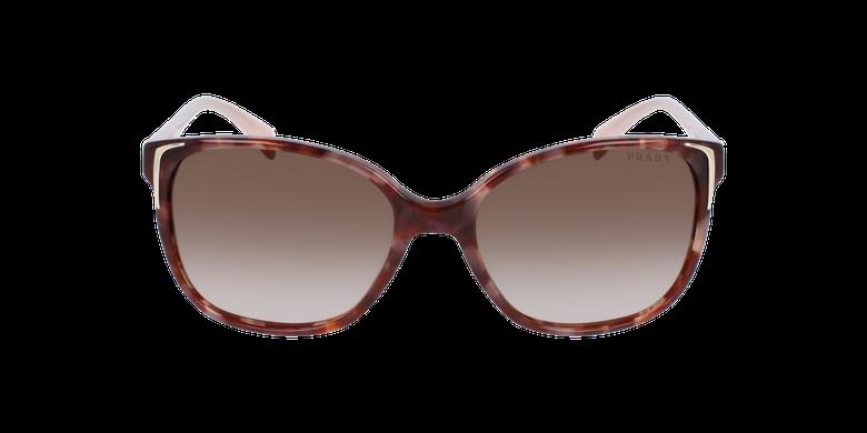 Gafas de sol mujer 0PR 01OS marrón/rosavista de frente