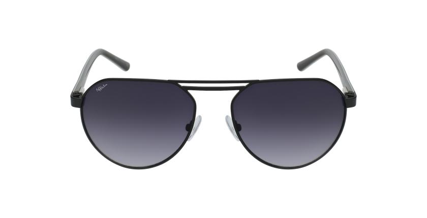 Gafas de sol hombre ALVIN negro - vista de frente