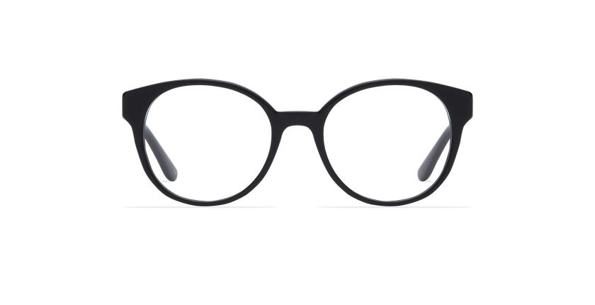 Gafas graduadas mujer ABIGAIL negro - vista de frente