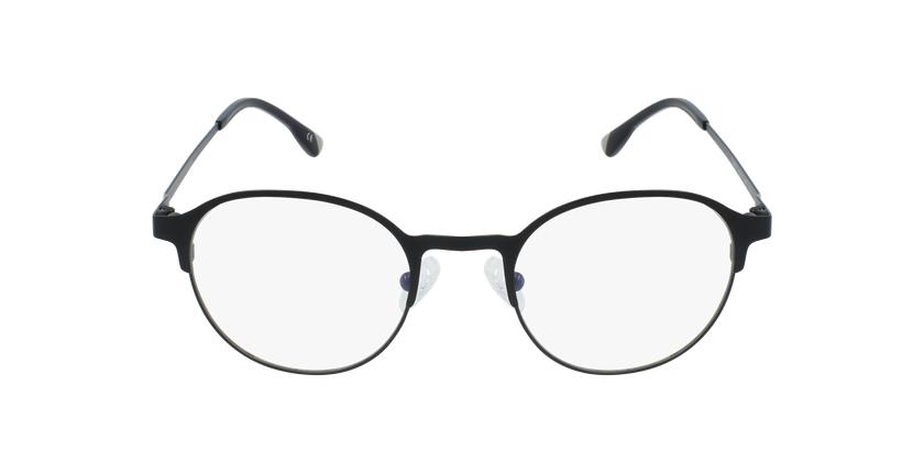 Gafas graduadas hombre MAGIC 53 BLUEBLOCK negro - vista de frente