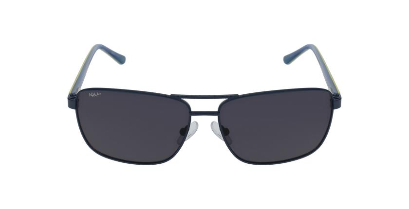 Gafas de sol hombre AMIR azul - vista de frente