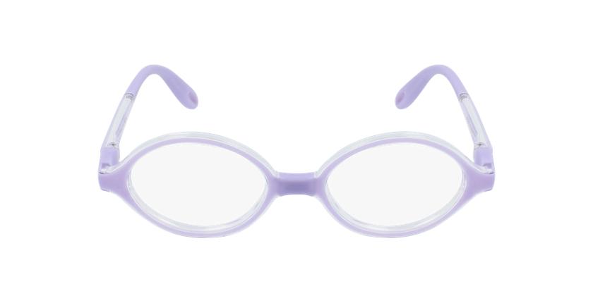 Gafas graduadas niños RFOB1 morado - vista de frente