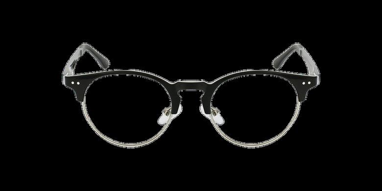 Gafas graduadas TMG93 negro/plateadovista de frente