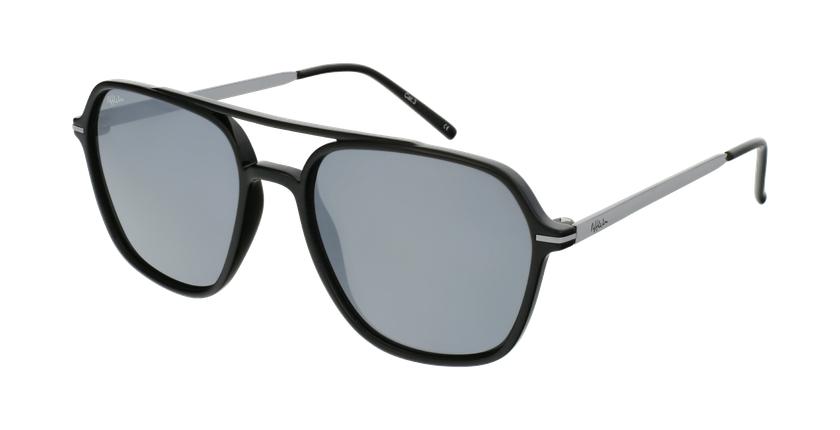 Gafas de sol hombre IBANEZ negro/gris - vue de 3/4