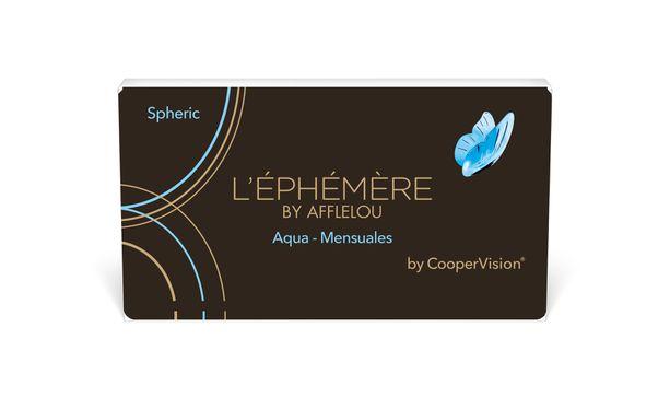 Lentillas L'EPHEMERE AQUA 6L - MENSUAL - vista de frente