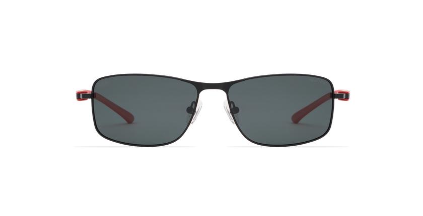 Gafas de sol hombre ONATI POLARIZED negro/rojo - vista de frente