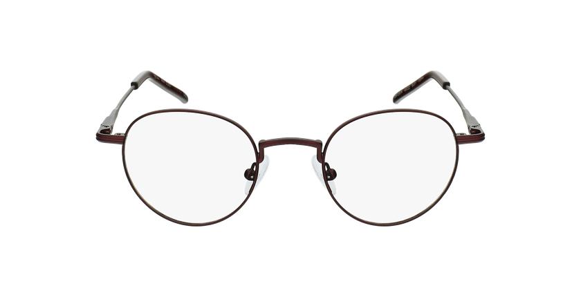 Gafas graduadas CLEO rojo - vista de frente