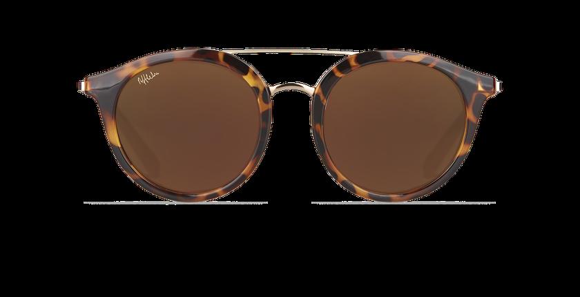 Gafas de sol mujer ITABATA carey/dorado - vista de frente