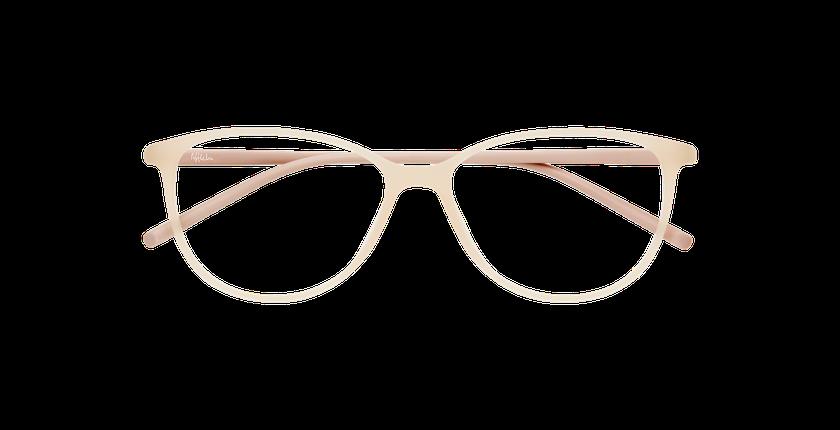 Gafas graduadas mujer LIGHT TONIC rosa - vista de frente
