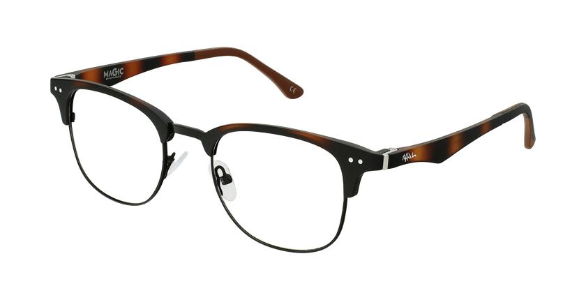 Gafas graduadas TMG92 carey/negro - vue de 3/4