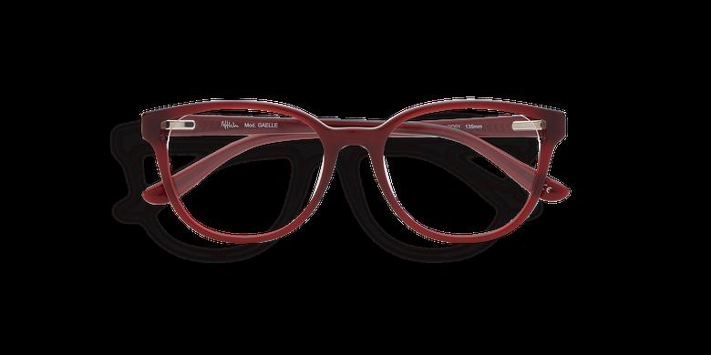 Gafas graduadas mujer GAELLE rojo
