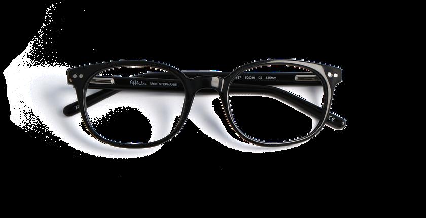 Gafas graduadas mujer STEPHANIE negro - vista de frente