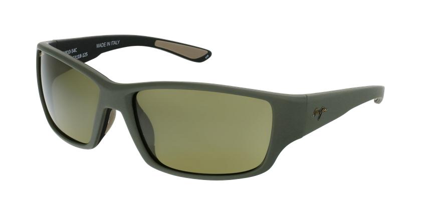 Gafas de sol hombre Local Kine verde - vue de 3/4